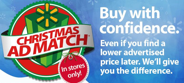 Walmart: Christmas Walmart Ad Match!