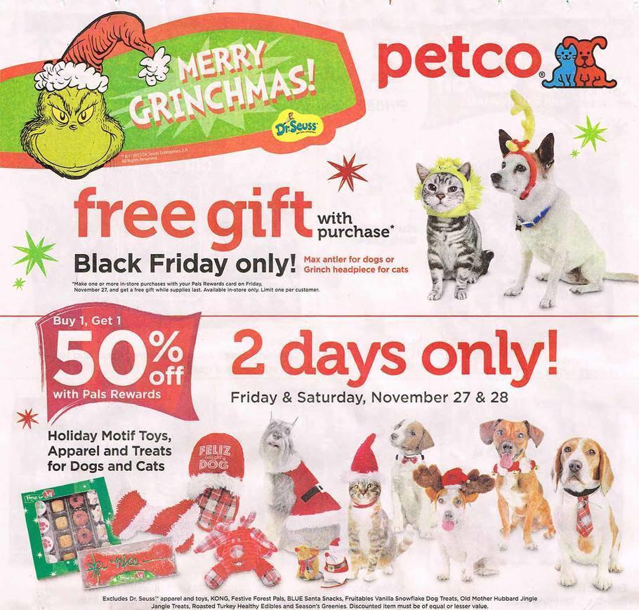 Petco Black Friday Deals 2015