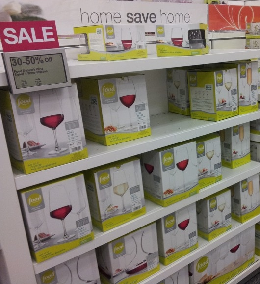 food network wine glasses