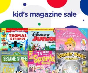 Kids Magazine Sale! Disney Magazines, Jack & Jill, Thomas & Friends, Zoobooks & More!