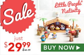 Fisher Price Little People Nativity Set – On Sale for $22.49!
