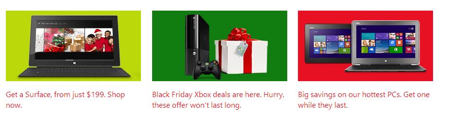 microsoft black friday deals