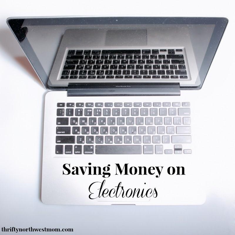 saving money on electronics