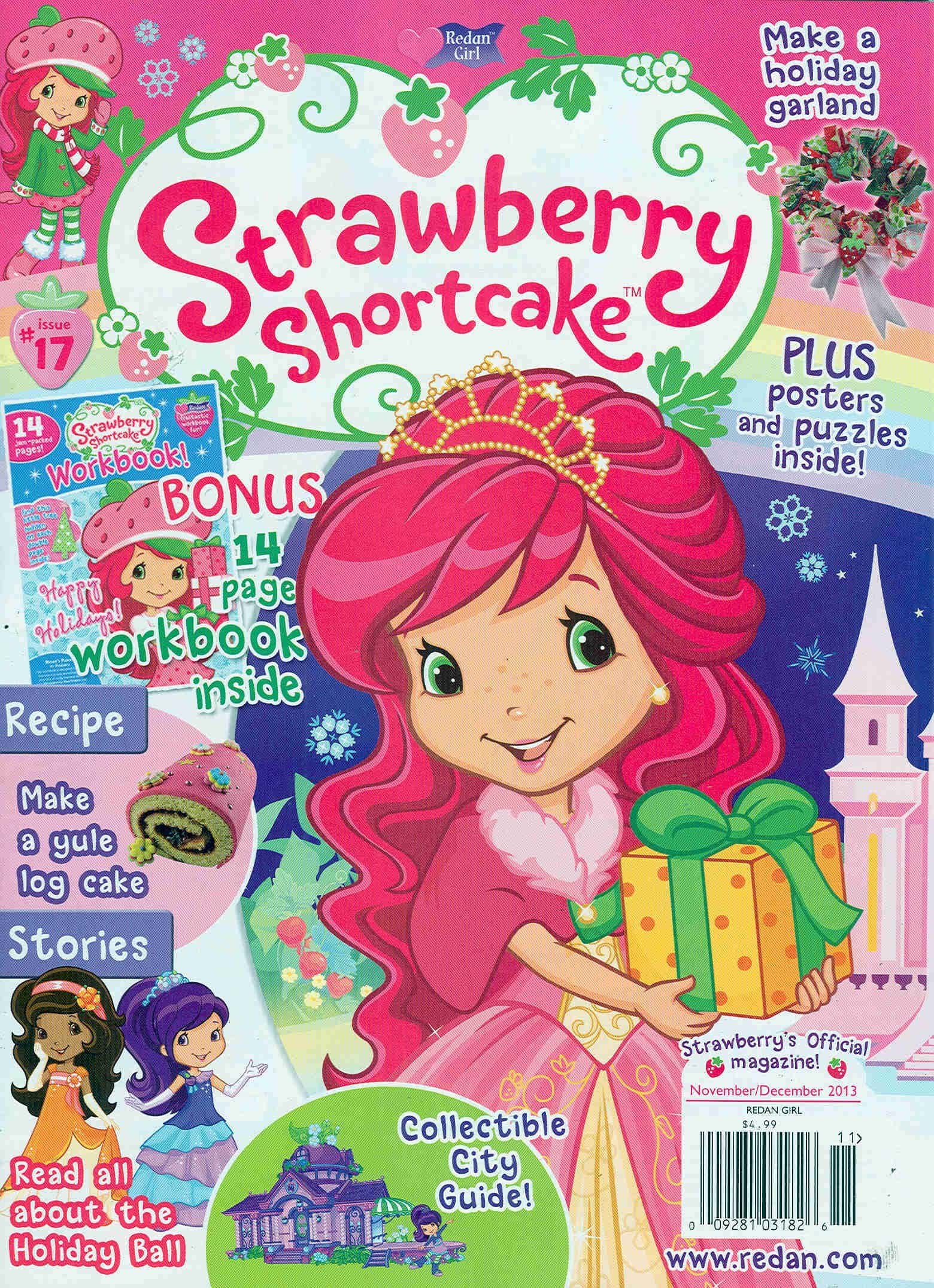 Today Only Subscribe To Strawberry Shortcake Magazine For Only 1499