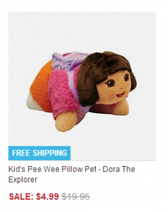 Dora THe Explorer Pee Wee