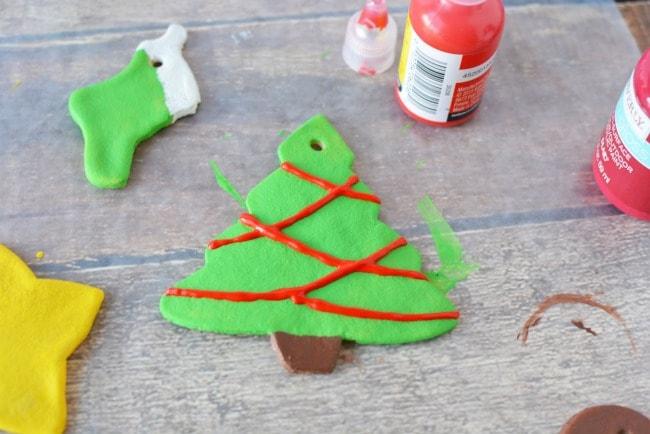 Salt Dough Ornaments Painted