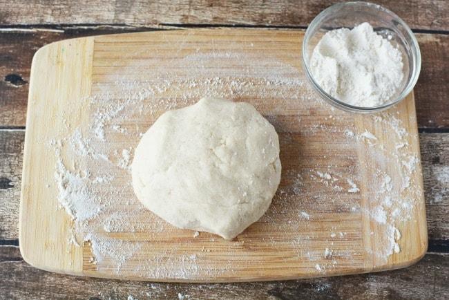 Making Salt Dough for Ornaments