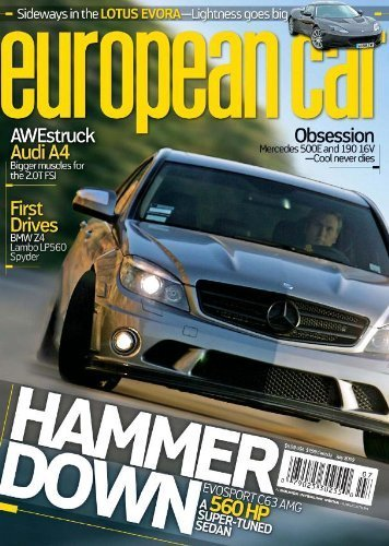 European Car Magazine 6 50 For A One Year Subscription Thrifty