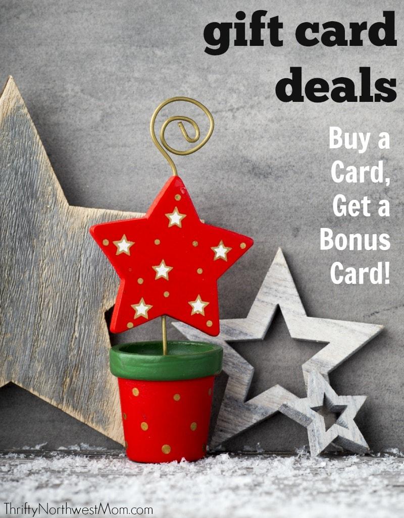 Gift Card Bonus Deals Roundup - Northwest & National Restaurants ...
