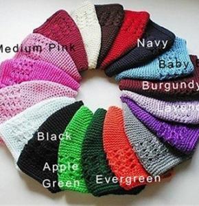 Girls Knit hats colors