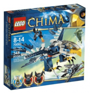 Lego Chima Iris Eagle Interceptor