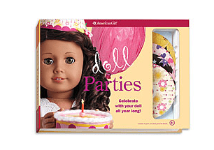 American Girl doll parties set