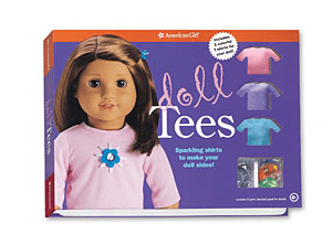 american girl doll t shirt  kit