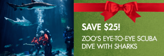 Point Defiance Zoo Discounted Scuba Dive with Sharks