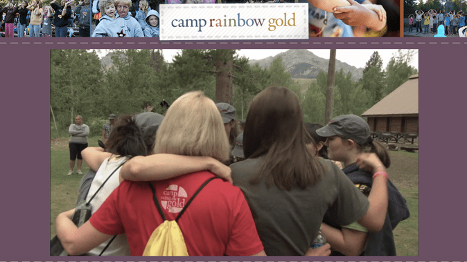 camp rainbow gold