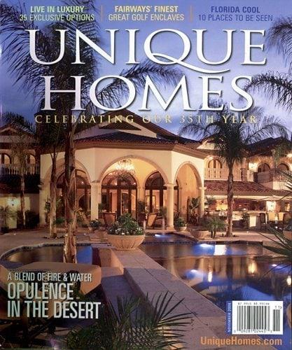 Elegant Unique Homes Magazine