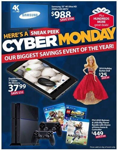Walmart Cyber Monday Sales LIVE Now!