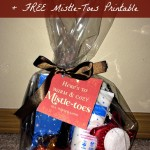"DIY Pedicure Kit + FREE ""Mistle-Toes"" Printable Tag – Easy & Frugal Christmas Gift"