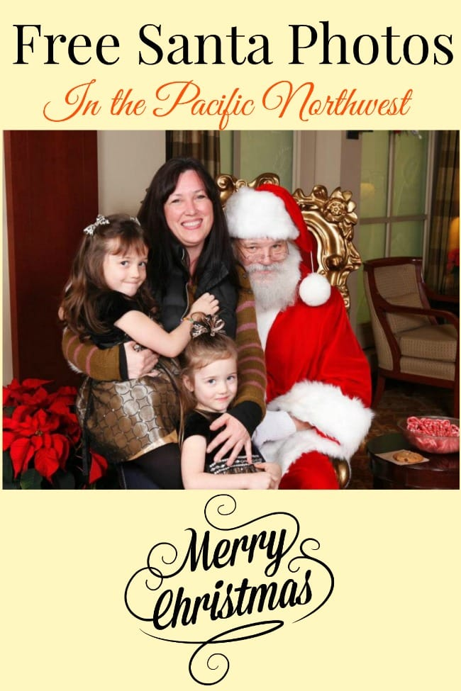 FREE Santa Photos – Get Professional Pictures with Santa for FREE In the Northwest (and Nationally)!