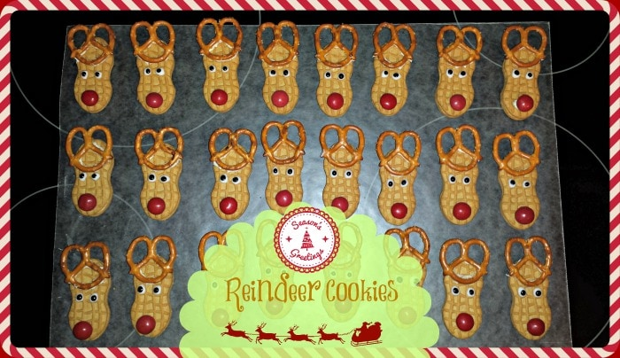 christmas cookie recipes reindeer cookies