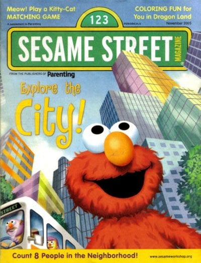Sesame Street Magazine  – $14.99 For a One Year Subscription (Today Only)!