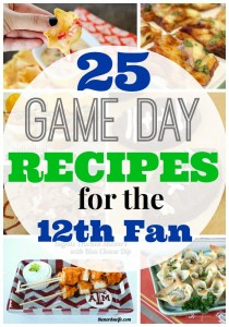 25 Game Day Recipes for the 12th Fan