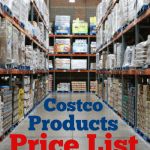 Costco Products Price List