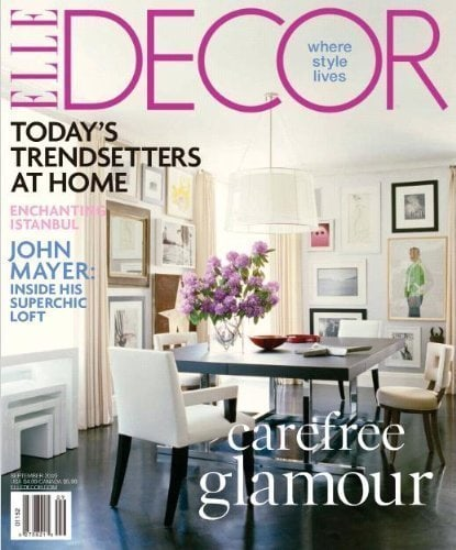 Elle Decor Subscription – $4.50 for One Year – Today Only!
