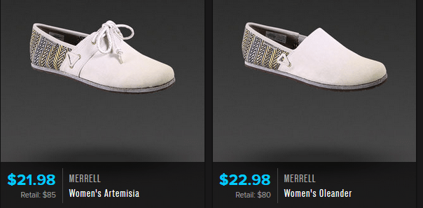 Retail Stores That Carry Merrell Shoes