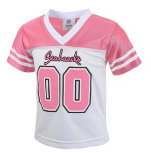 Pink Seahawks Toddler Jersey