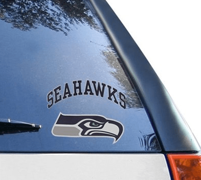 seattle seahawks decal 6x6
