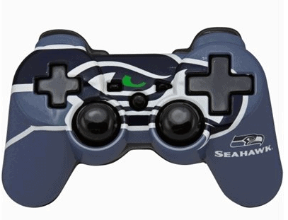 seattle seahawks controller faceplate