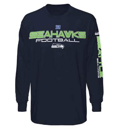 seattle seahawks long sleeve t shirt