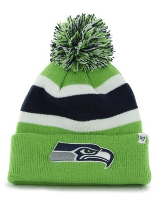 seattle seahawks knit beanie