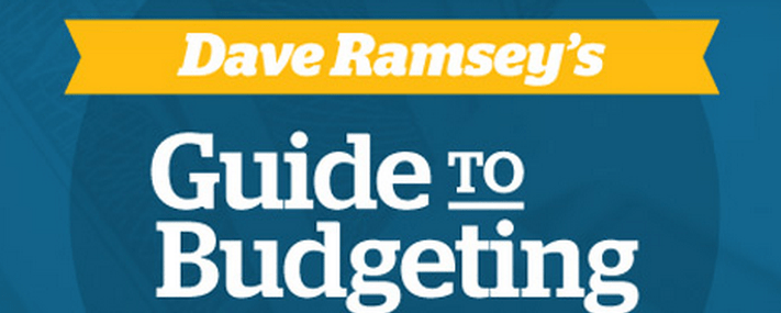 dave ramsey free budget guide