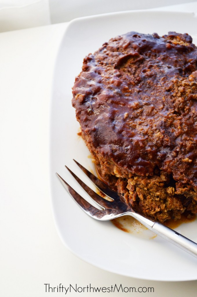 Healthy Meatloaf Finished