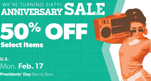 Value Village: President's Day Sale – 50% Off Select Items!
