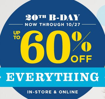 Old Navy Sale: 60% Off Everything