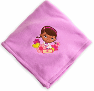 Doc McStuffins Fleece Blanket