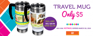 York Photo Travel Mug