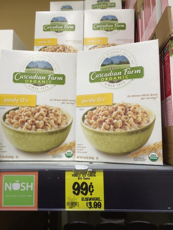 Cascadian Farms Cereal