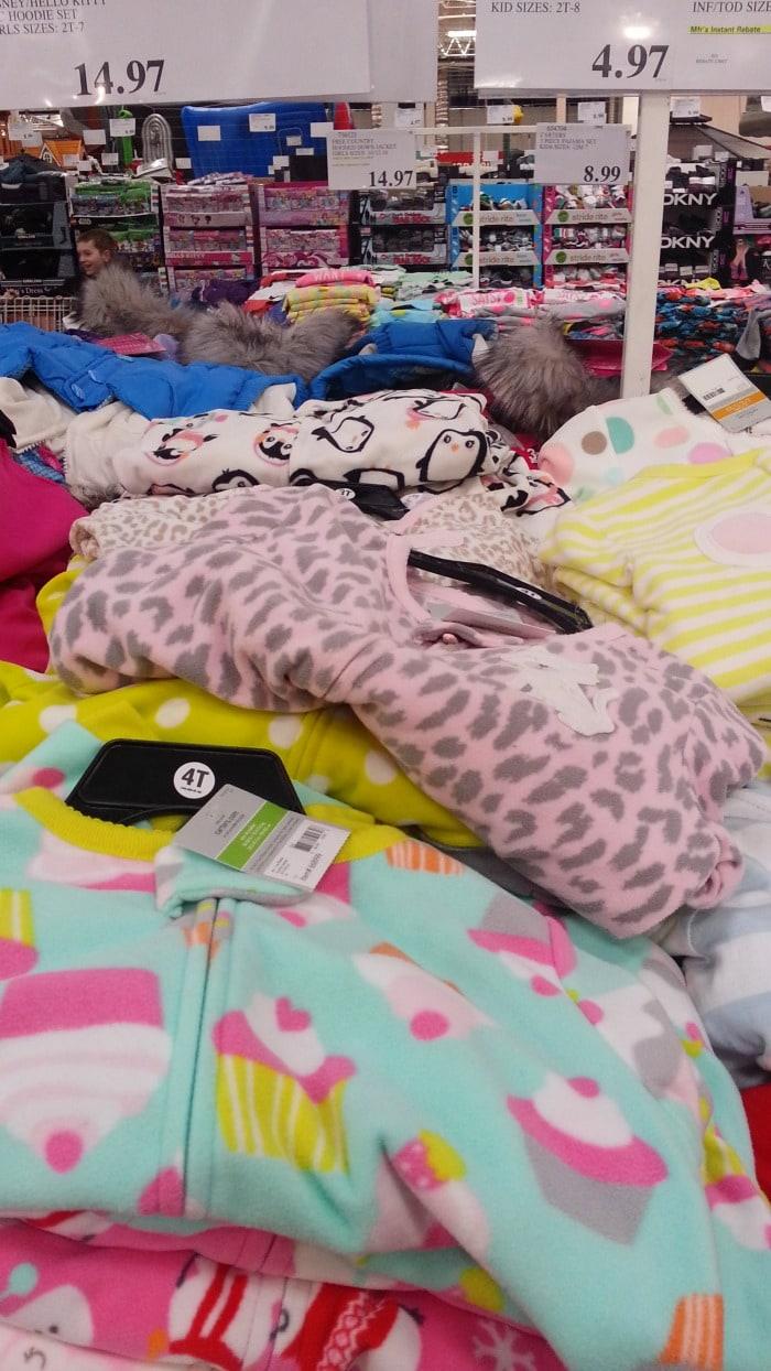 4f8674c9c Costco Kids Pajama Deals - Warm Footie Pajamas less than  5 ...