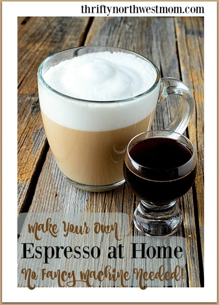 How To Make Espresso Drinks (Lattes, etc) – No Fancy Machine Needed!