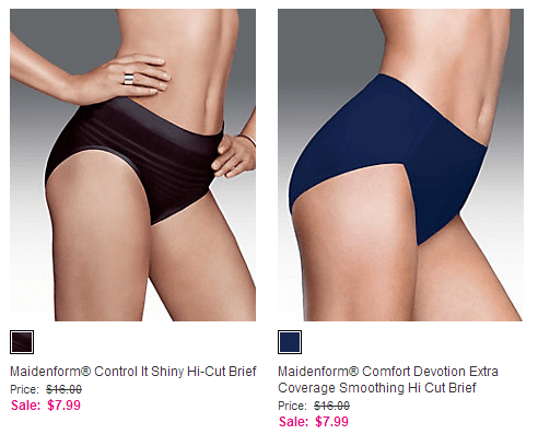 maidenform panties