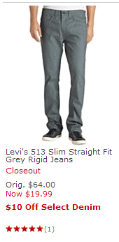 Macy's Denim Event – Get $10 Back With Denim Purchase (Jeans for $4!)