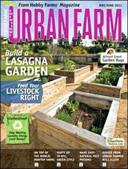 Urban Farm Magazine – $8.99 A Year Subscription