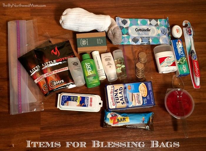 Blessing Bag Items