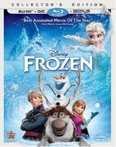 Disney Frozen Blu Ray Combo Pack