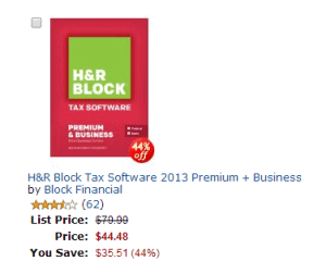 H&R Block Premium plus business