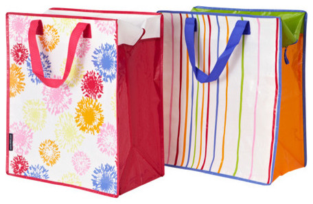 IKEA storage bags - image from Houzz